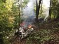 Над Словакией в небе столкнулись два самолета с парашютистами