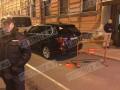 В Санкт-Петербурге облили краской генконсульство США