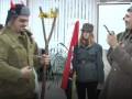 На вертепе в Славянске показали, как УПА побеждает черта и Сталина