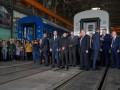 Зеленский посетил вагоностроительный завод на Полтавщине: Подробности