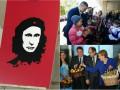 День в фото: Кличко в школе, яблочки Меркель и день рождения Путина