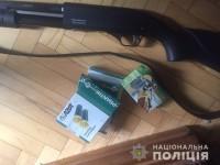 Стрельба в Киеве: полицейские задержали пенсионерку