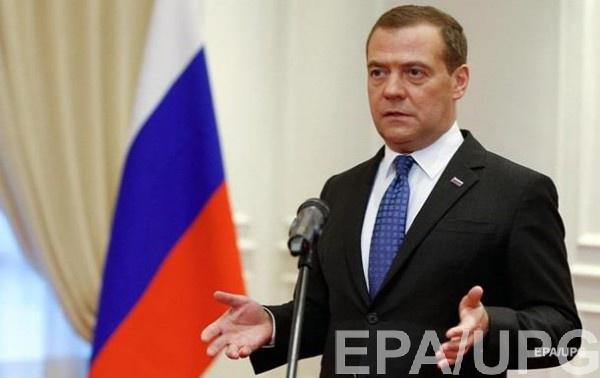 Дмитрий Медведев подписал постановление о расширении санкций против Украины
