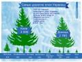 Киев и Донецк нарядили самые дорогие елки в стране (ИНФОГРАФИКА)
