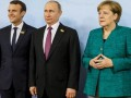 Меркель и Макрон позвонили Путину из-за Сирии