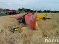 Полиция открыла производство из-за падения самолета под Полтавой
