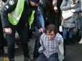 В Киеве копы жестко задержали активиста: Хулиганил – говорят в полиции