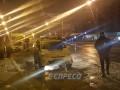 На Троещине в патрульных бросили гранату: Prius прошило осколками