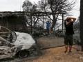 На греческом острове объявили ЧП из-за лесных пожаров