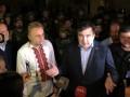 Саакашвили: Меня внесли в базу Миротворца по указанию Авакова