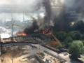 Масштабный пожар в Ростове: горят около 25 домов