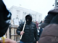 Защитники Саакашвили применяли топоры и бензопилы - полиция