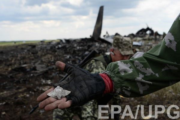 Ил-76 был сбит сепаратистами при заходе аэропорт Луганска