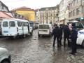 Неизвестный сообщил о минировании автомобиля в центре Ужгорода