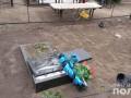 14-летний подросток устроил погром на кладбище в Днепропетровской области
