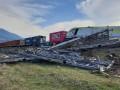 В Турции столкнулись два поезда