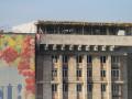 Скандал в киевском Доме Профсоюзов: на крыше построили новый этаж (фото)