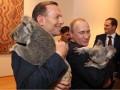 Путин и Эббот сфотографировались с коалами