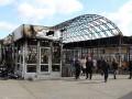 В Киеве из-за пожара закрыли вход на станцию метро Позняки
