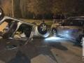 На Днепропетровщине пьяный священник влетел в авто на парковке