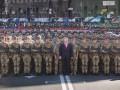 Порошенко посетил генеральную репетицию парада
