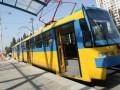 В Киеве сошел с рельс скоростной трамвай