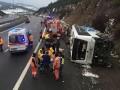 В Турции попал в ДТП автобус: более 20 пострадавших