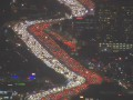 Гигантскую пробку в Лос-Анджелесе сняли с воздуха