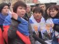 В оккупированной Евпатории митинговали против сноса рынка