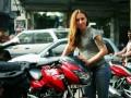 Украинка объедет вокруг света на мотоцикле - ВВС Україна