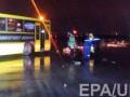 Момент крушения самолета в Ростове-на-Дону зафиксирован на камеру