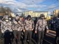 Нацкорпус устроил акцию во время визита Порошенко в Винницу