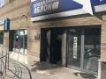 В Днепре сожгли офис Оппоблока