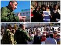 В Донецке митинговали за Новороссию против ДНР. Был оратор со свастикой (фото)