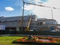 Работа кипит: как выглядит кинотеатр Жовтень за месяц до открытия