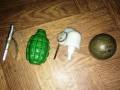 Мужчина пришел в гости с боевыми гранатами на Одесчине