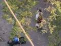 В Днепре парень жестоко избил девушку прямо на улице