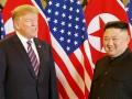 Встреча Трампа и Ким Чен Ына завершилась ужином