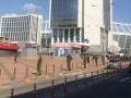Нацгвардия оцепила территорию возле Олимпийского