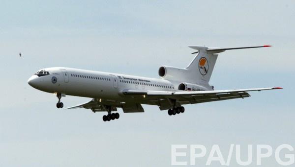 Очевидец сказал, как падал Ту-154