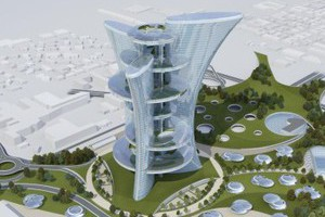Здание будет возведено в Порто-Маргера