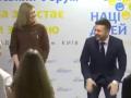 Зеленский с женой неожиданно станцевали во время форума