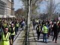 Протесты в Париже: 32 задержанных