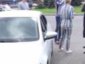 В Киеве банда в масках пыталась ограбить женщину-водителя