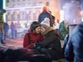 Последние минуты перед разгоном Майдана (ФОТО)