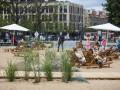 В центре Вильнюса открыли искусственный пляж