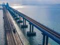Россия достроила железнодорожные пути на Крымском мосту