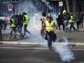 Во Франции снизилась активность