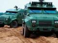 Испытания бронеавтомобиля Барс-8 показали на видео