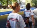 На Михайловской площади в Киеве собираются участники объединительного съезда Батьківщини
